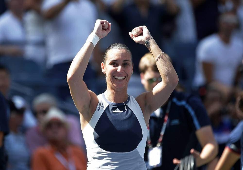 Flavia Pennetta - QF US Open 2015