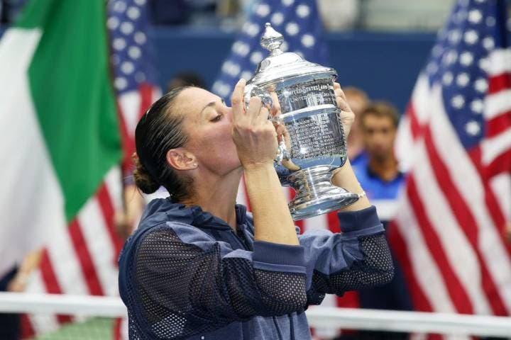 Flavia Pennetta - US Open 2015