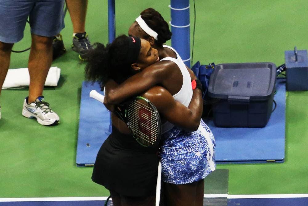 Serena e Venus Williams - US Open 2015 (foto di Art Seitz)