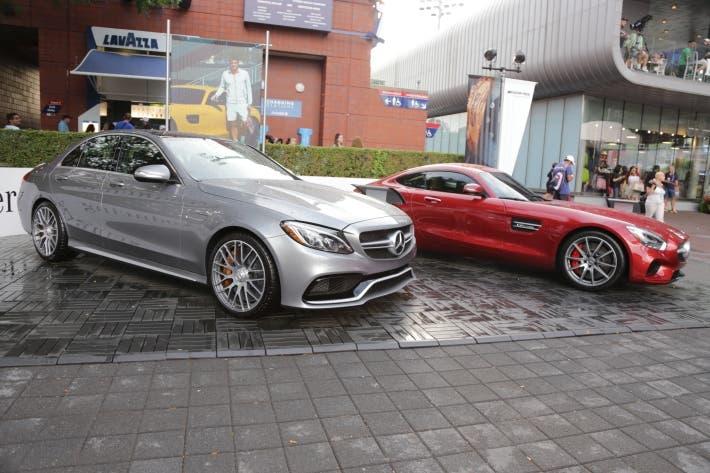 Stand mercedes us open 2015 ubitennis for Mercedes benz us open