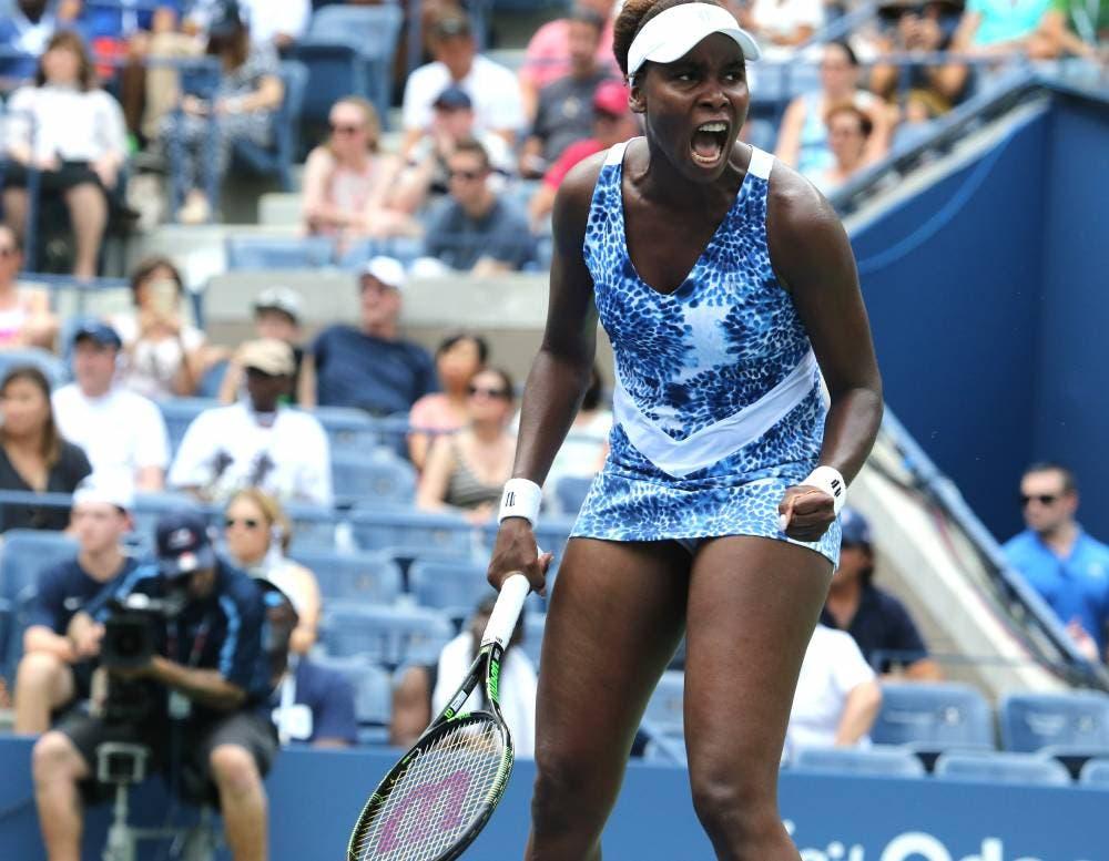 Venus Williams - US Open 2015 (foto di Art Seitz)