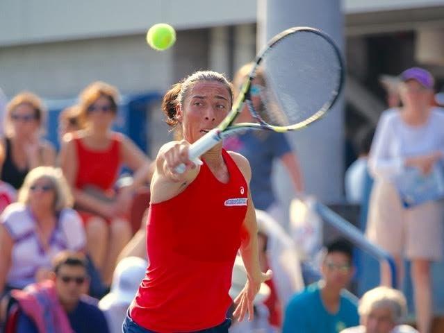 Francesca Schiavone - US Open 2015 (foto di Luigi Serra)