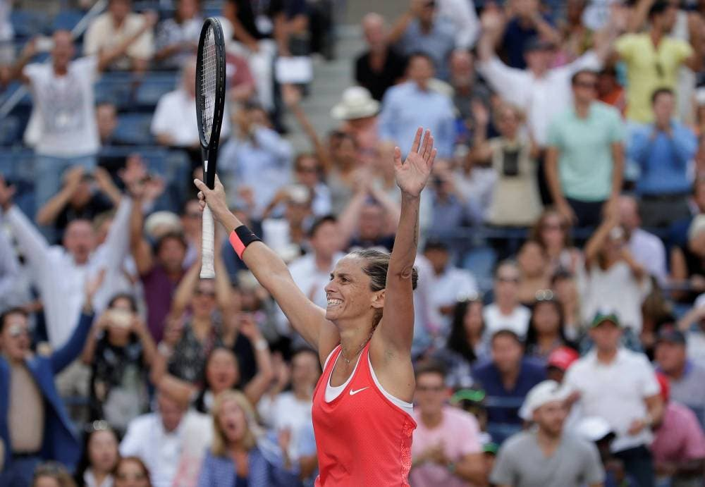Roberta Vinci - SF US Open 2015