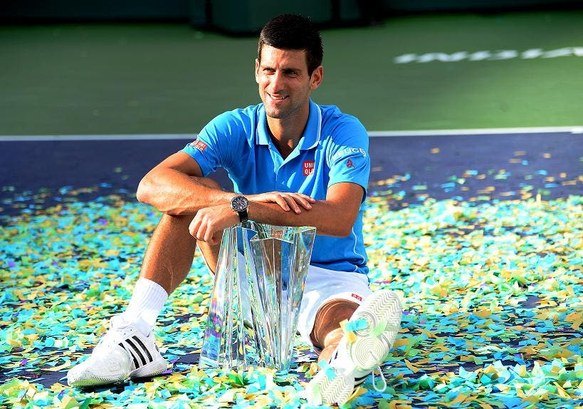 Novak Djokovic - Indian Wells 2015