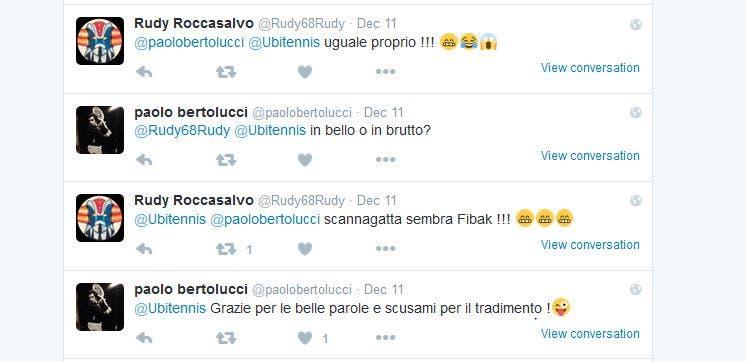 Bertolucci's tweet