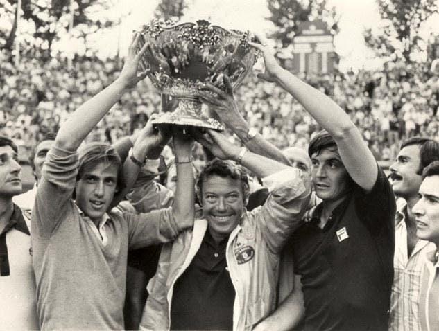 Italia vince la Coppa Davis 1976