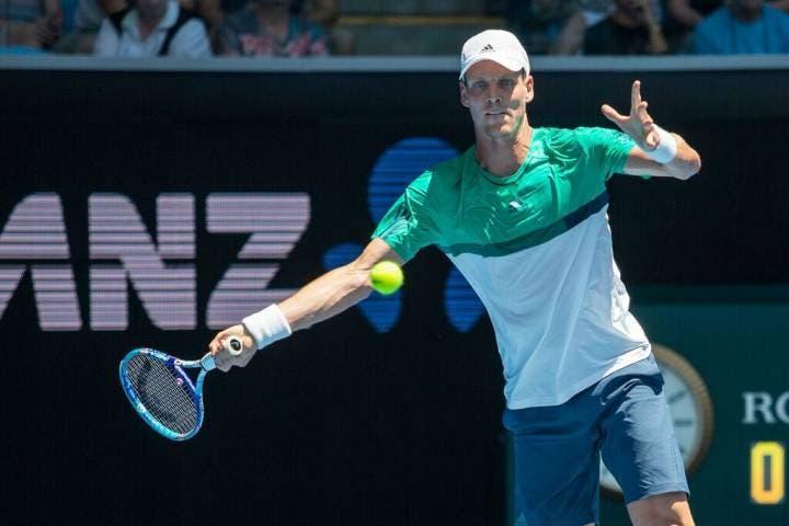 Tomas Berdych - Australian Open 2016 (foto di Jason Heidrich)