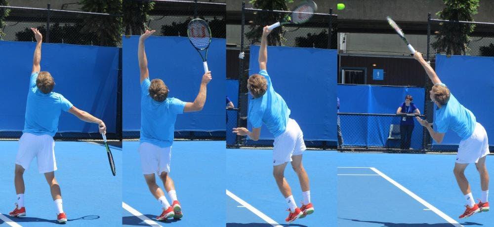 AO 2016, spunti tecnici: David Goffin, leggero, veloce e tecnico nel tennis dei super-atleti