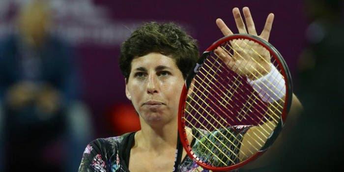WTA Mosca: Suarez Navarro va KO, addio Singapore. Kuznetsova ancora in corsa