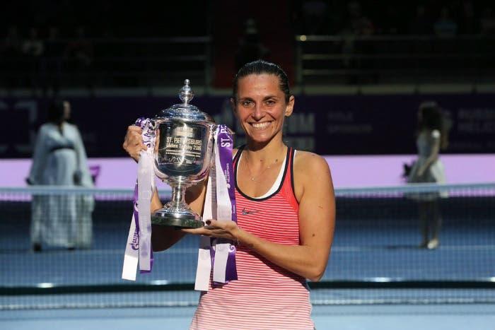 WTA San Pietroburgo: Roberta Vinci batte la Bencic e forse rinvia il ritiro (ascolta l'audio)
