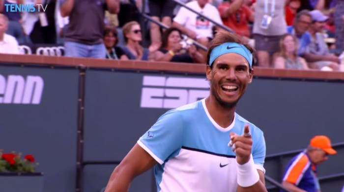 Indian Wells: gli highlights di Nadal-Zverev e Wawrinka-Goffin
