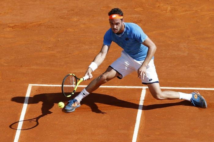 ATP San Paolo: Cecchinato non lotta, rimane solo Fognini