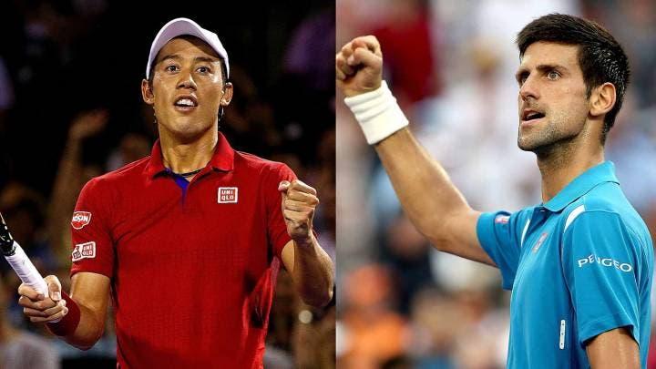 Novak Djokovic vs Kei Nishikori: i precedenti in vista della finale