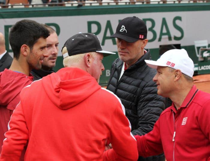 Rivoluzione Djokovic: via Vajda e tutto lo staff