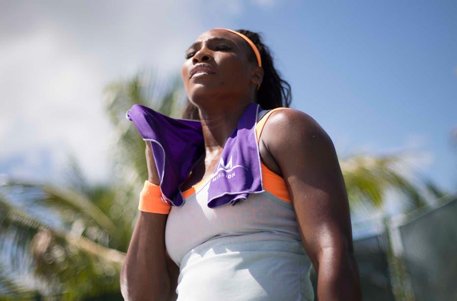 Il primo asciugamano che raffredda, la scelta di Serena Williams