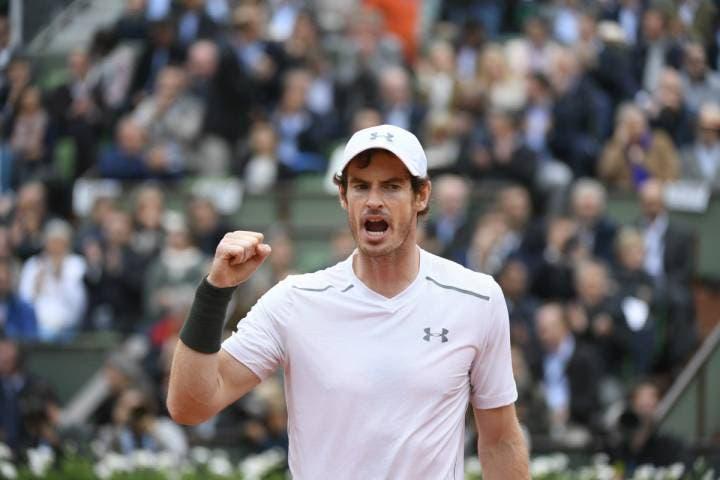 Roland Garros, uomini: Murray in finale, Wawrinka si sveglia per un solo set
