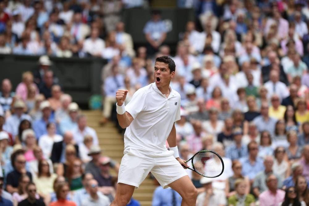 Il tempo è inesorabile, Federer crolla al quinto contro Raonic