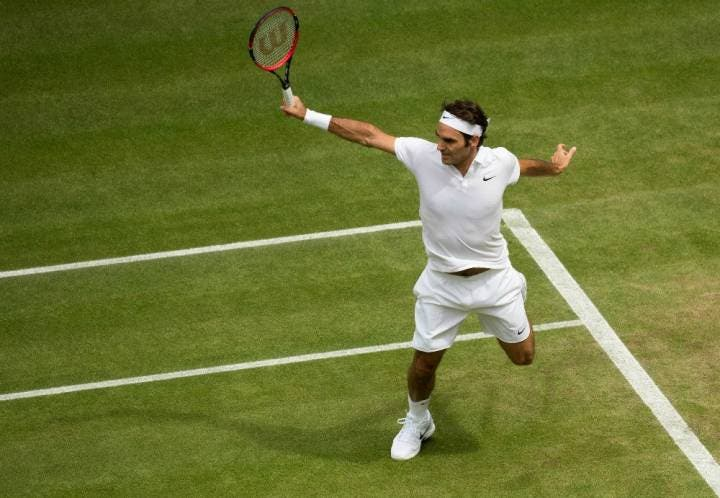 Roger Federer - Wimbledon 2016