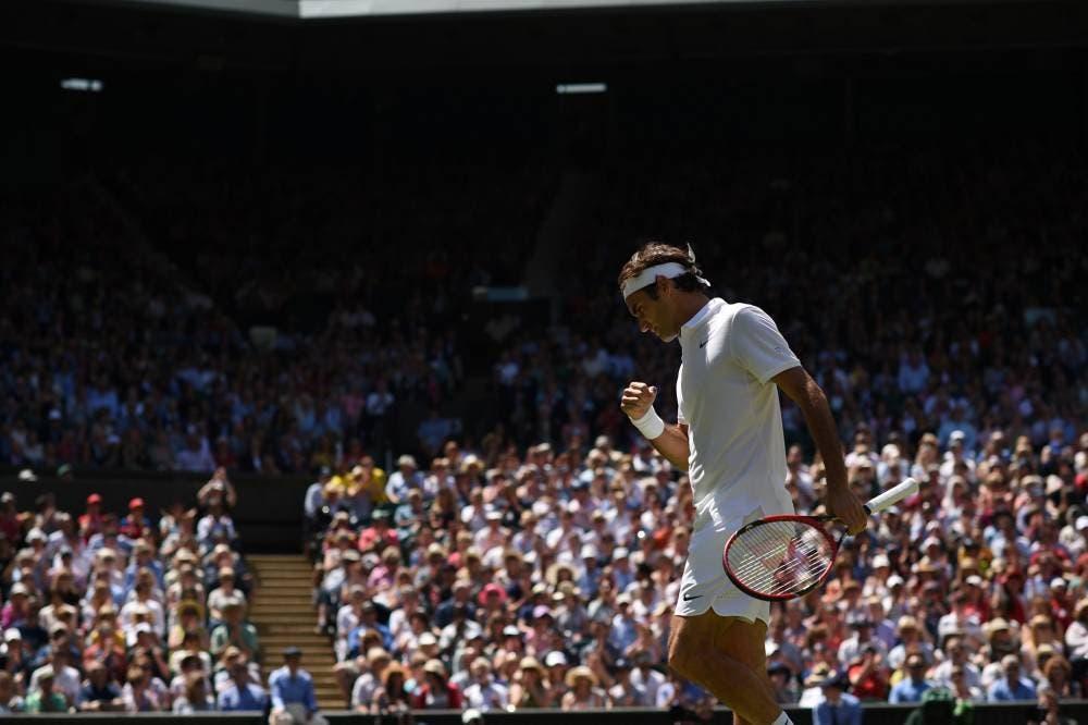 Wimbledon, uomini: Federer rimonta due set e salva tre matchpoint!