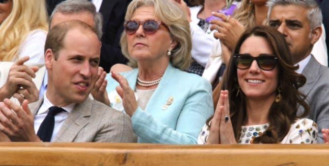 Wimbledon, finale uomini: Royal Box deluxe con Kate, William, Theresa May e Hugh Grant