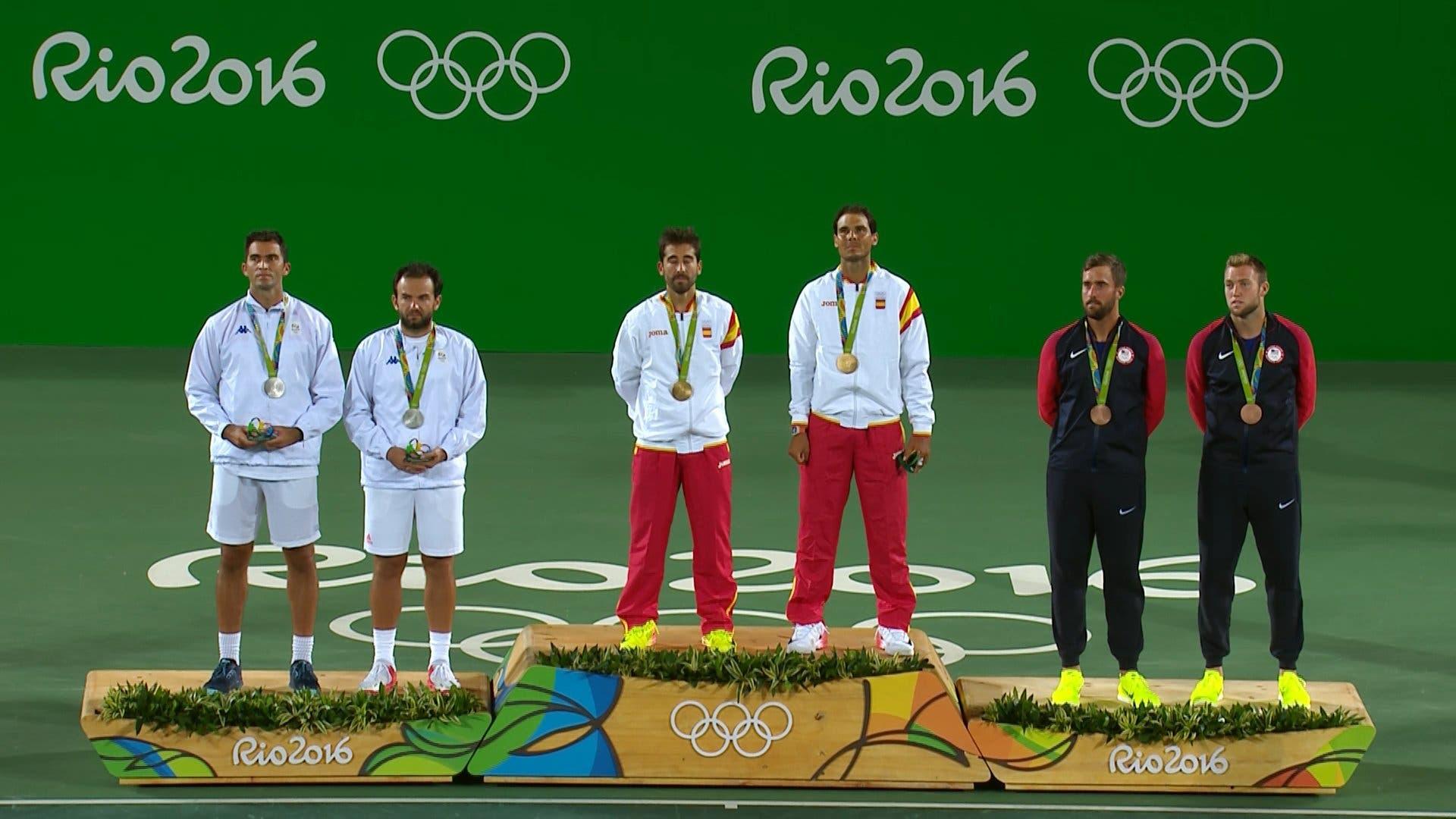 Rio 2016, doppio maschile: Nadal è ancora d'oro, Lopez ringrazia