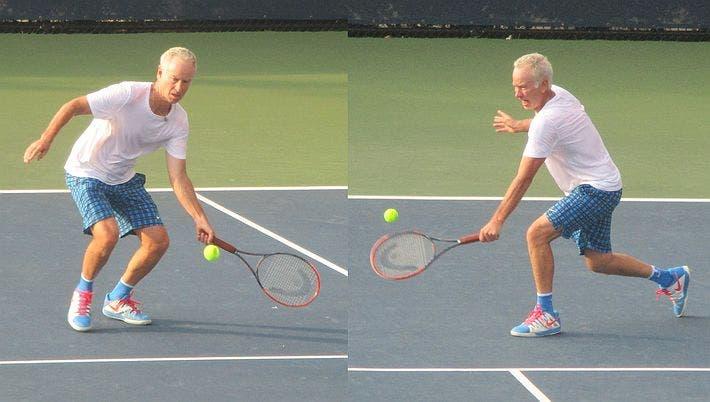 McEnroe volleys