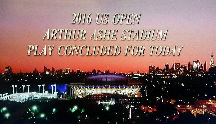US Open 2016 end game