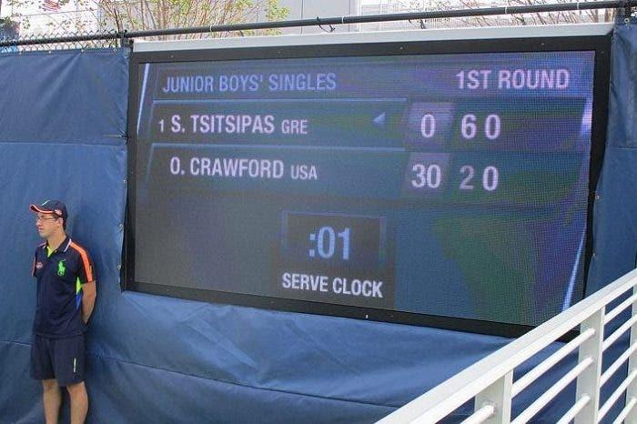 I tornei pre US Open adotteranno lo shot clock