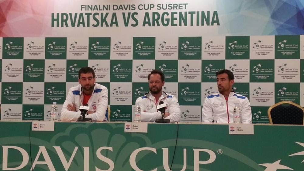 """Coppa Davis interviste, i croati: """"Volevamo far giocare del Potro lungolinea"""". Gli argentini: """"Loro più bravi"""" [VIDEO]"""