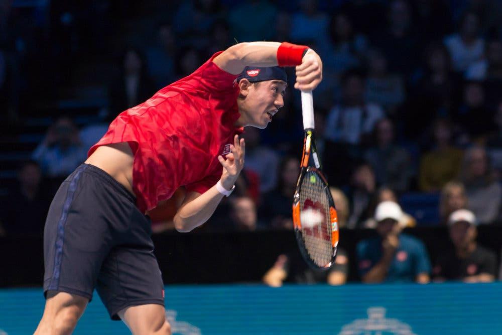 Kei Nishikori - ATP Finals 2016 (Alberto Pezzali © All Rights Reserved)