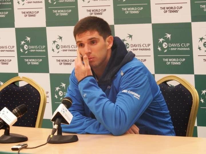 """Coppa Davis interviste, Delbonis: """"La chiave? Il suo servizio"""". Cilic: """"Pausa suggerita dal ct"""" [AUDIO]"""