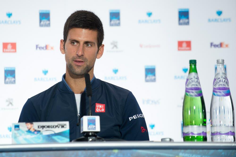 """ATP Finals interviste, Djokovic: """"Andy ha meritato di vincere"""""""
