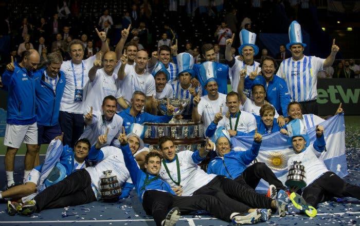 Coppa Davis: non la vinsero con Vilas e Clerc, l'hanno vinta con Delbo e Delpo