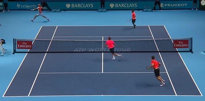incredible doubles point ATP finals kontinen peers vs lopez lopez_0342
