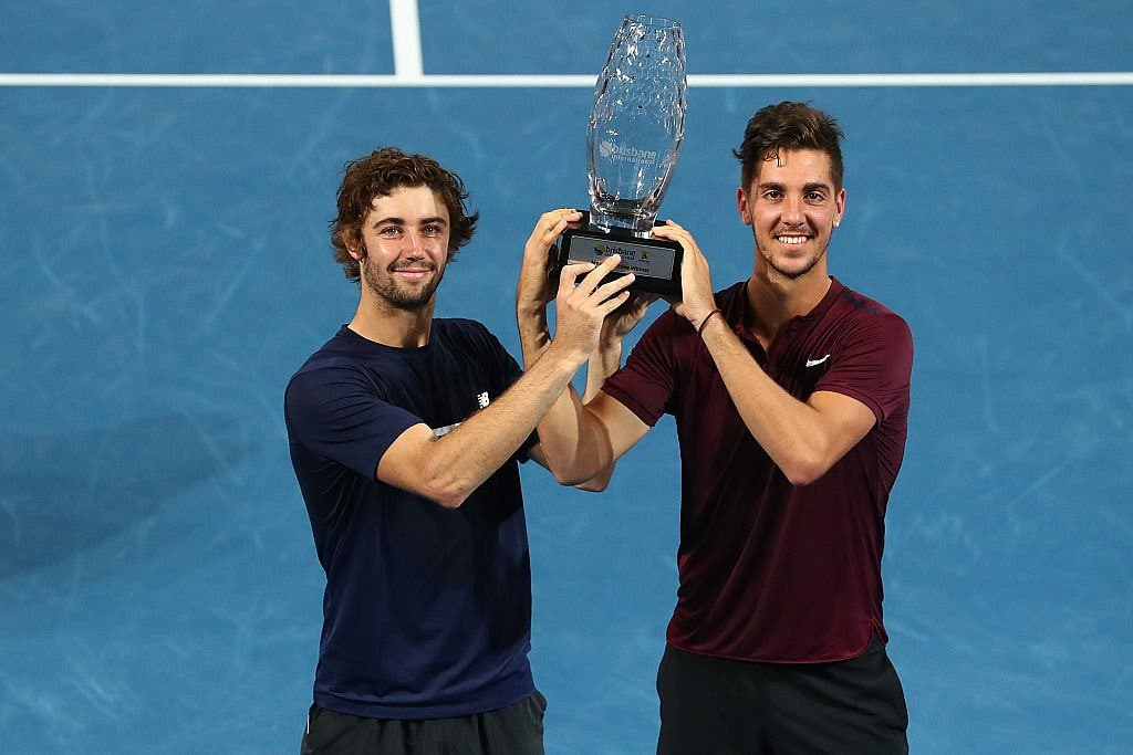 ATP Brisbane: Kokkinakis torna subito al successo in doppio