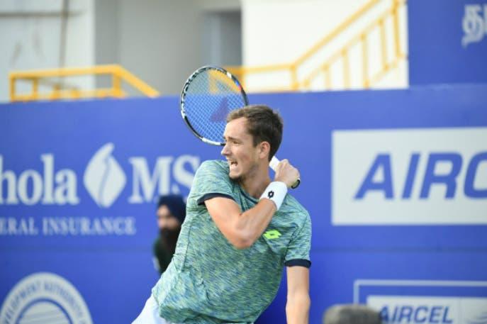 ATP Chennai: Medvedev salva match point, prima finale in carriera