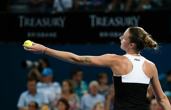 WTA Ranking: una super Karolina Pliskova sale al n.5