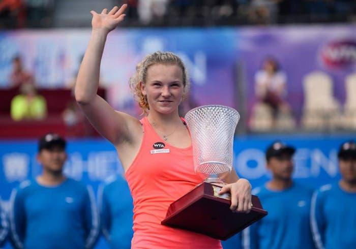 WTA Shenzhen: Siniakova incanta, primo titolo per una nuova stella