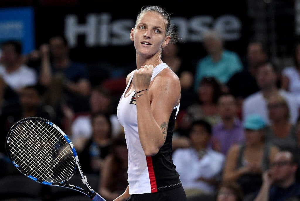 WTA Brisbane: Pliskova è già in forma Slam, Cornet va KO