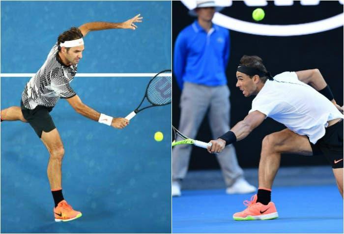 Roger Federer e Rafa Nadal - Australian Open 2017