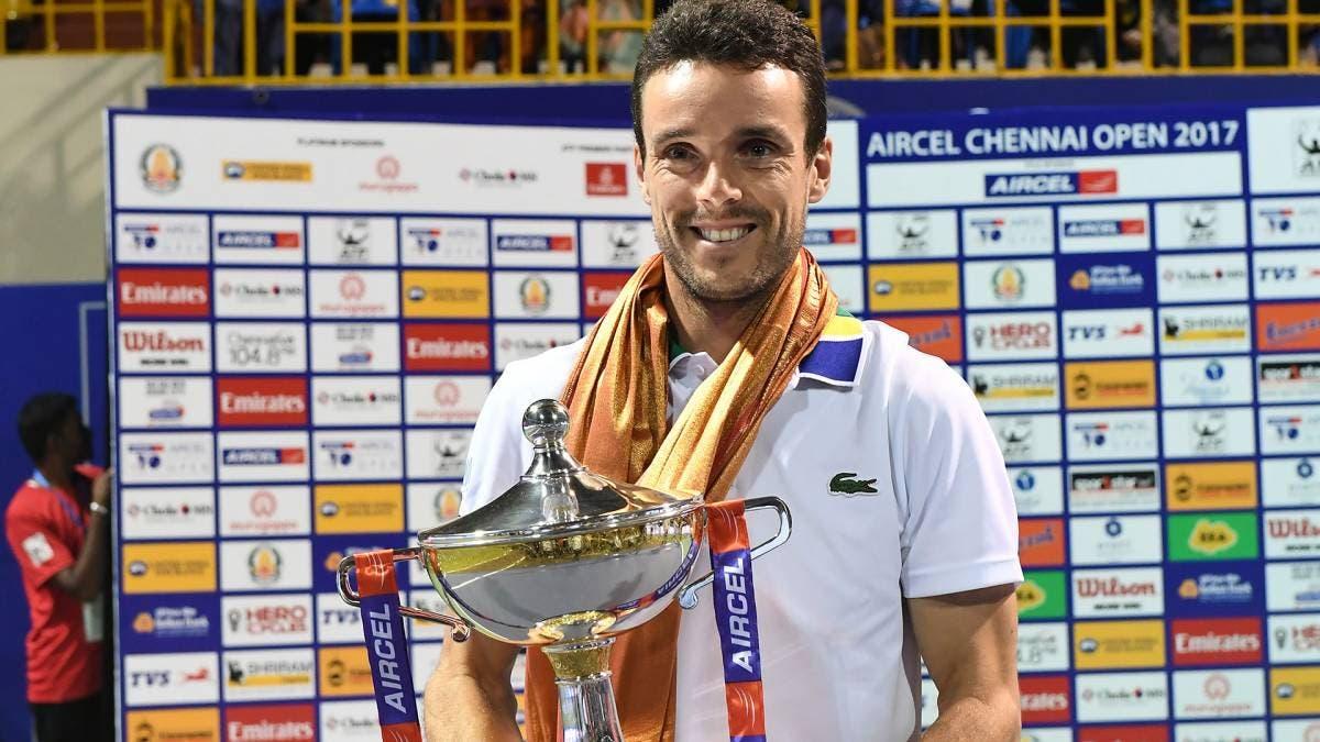 ATP Chennai: quinto titolo per Bautista Agut