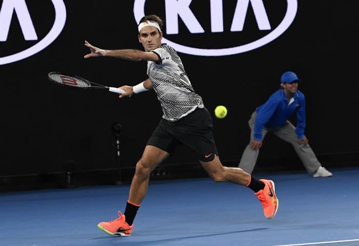 Roger Federer - Australian Open 2017 (foto Roberto Dell'Olivo)