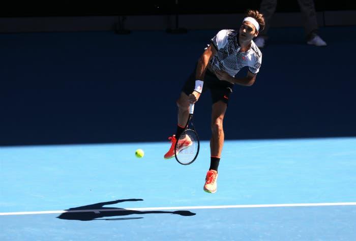 Roger Federer - Australian Open 2017 (foto di Roberto Dell'Olivo)