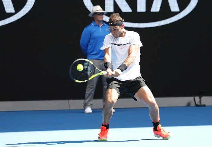 Rafa Nadal - Australian Open 2017 (foto Roberto Dell'Olivo)