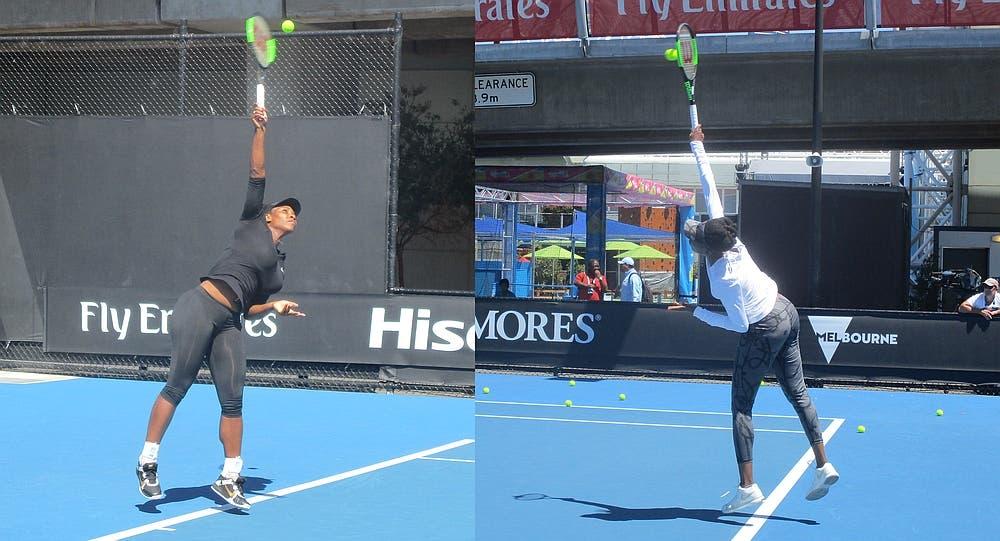 AO, spunti tecnici: Venus e Serena Williams, i segreti di due grandi servizi