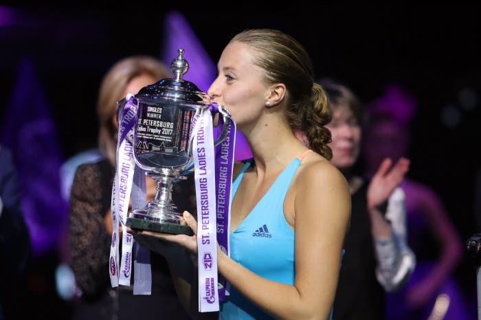 WTA San Pietroburgo: Kiki, finalmente. Primo titolo WTA