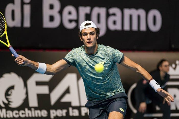 ATP Challenger Bergamo: Berrettini tiene a galla l'Italia
