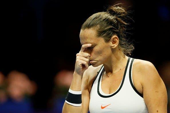 WTA Doha: Vinci, così non va. Zhang fa fuori Muguruza