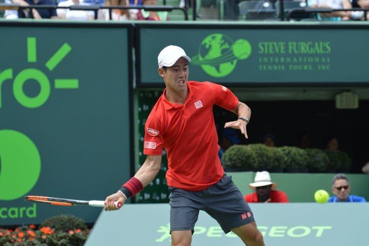 Nishikori rinuncia alla sfida di Coppa Davis contro l'Italia