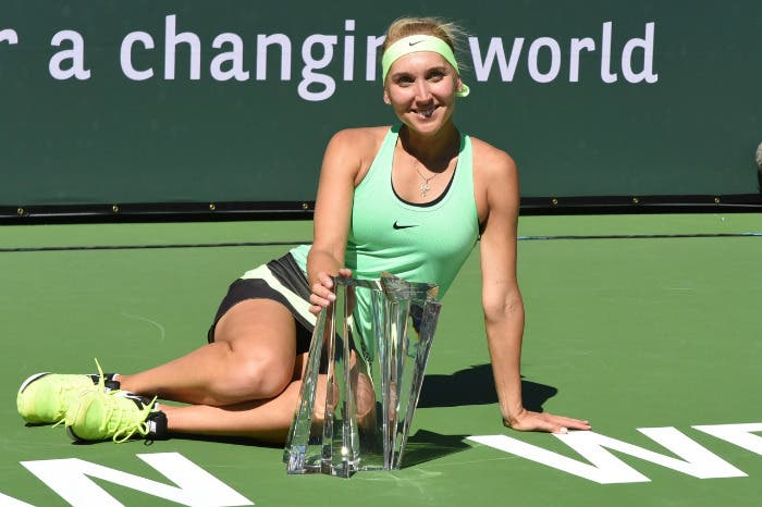 WTA IW: Vesnina zarina in California